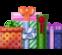 Berg met Geschenken