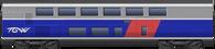TGV Duplex 1st Class