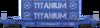Titanium Twin-Stack