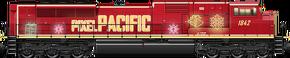 Holiday Train SD90 (Night)