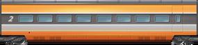 TGV Revamp 2nd Class