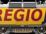 RegioJet Škoda 163 (Set)