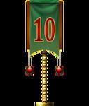 Advent Flag 10 (Gift)