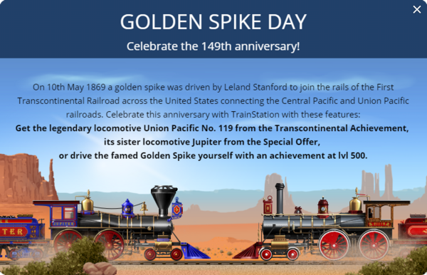 Announcement Golden Spike 2018