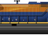 SD70 Heritage Triple