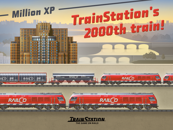 2000th train