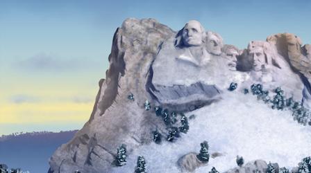 Snowy Black Hills Theme