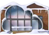 Snowy Cloud House
