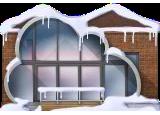 Snowy Cloud House