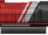 Reliable SD40-2 Red