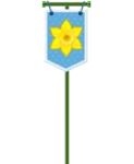 Easter Day Flag