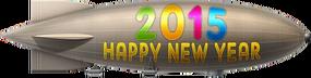 New Year Blimp