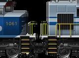 SD70 Wabash Quad