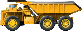 Giant Mine Truck