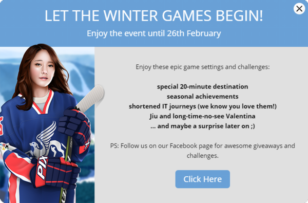 Announcement Winter Games 2018