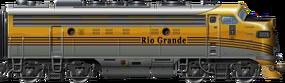 EMD F9 Rio Grande
