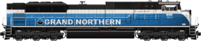 SD90 Grand Northern