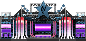 Rock Star Stage