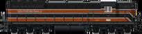 Old EMD SD7 (Brown)