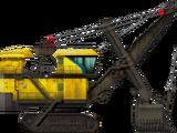 Mining Rope Shovel