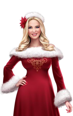 Portrait full Mrs. Claus (2014)