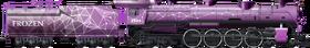Frozen Purple