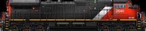GE Dash 9-44CW
