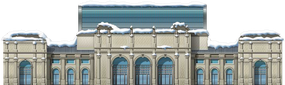 Snowy Union Station
