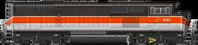 SD40 BAR