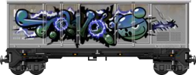 Graffiti Boxcar