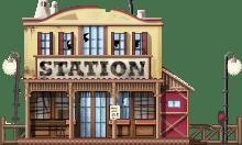 Damaged Station