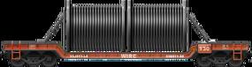 Wire Coil Flatcar