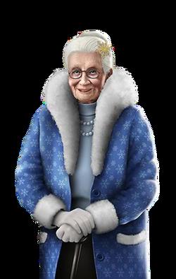 Portrait full Bertha (2015)