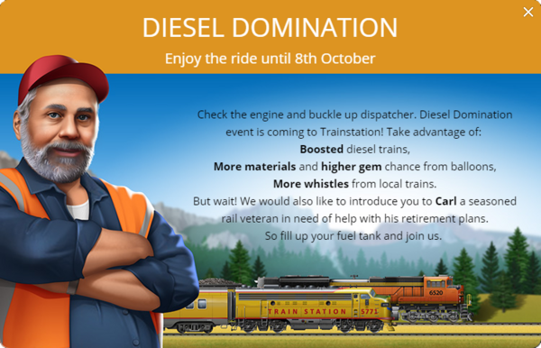 Announcement Diesel Domination 2018