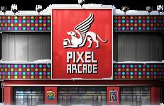 Snowy Arcade
