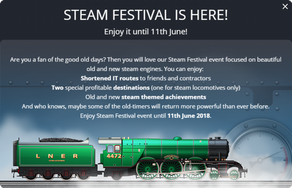 Announcement Steam Festival 2018