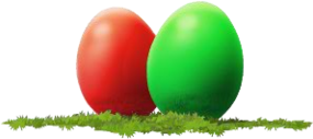 Colourful Eggs (Decoration)