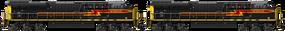 GE ES44AC Double