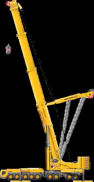 Deployed Crane