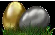 Lustrous Eggs