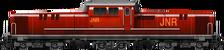 Old JNR DD51