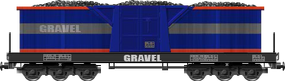 Gravel Dump Car