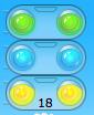 Ampel-3fach mit Zuganzahl Int
