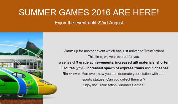 Summer Games 2016