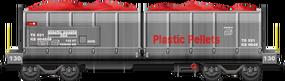 Plastics Dump Van