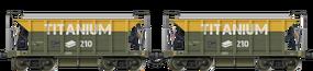 Twin Titanium Hopper
