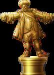 King Momo Statue