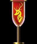 Reindeer Flag