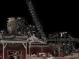 Burnt Workshop left