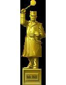 Bill's Gold Statue